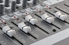 Sound Mixer I Royalty Free Stock Photo