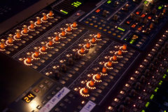 Free Sound Mixer In Concert Royalty Free Stock Images - 27242809