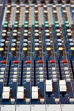 Sound Mixer Recording Studio. Royalty Free Stock Photo
