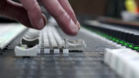 Sound Mixer Slider Royalty Free Stock Photography
