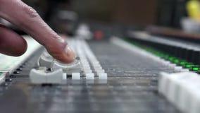 Sound Mixer Slider Royalty Free Stock Photo