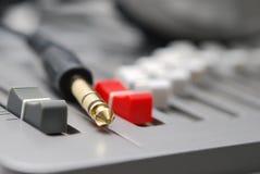 Sound mixing board Royalty Free Stock Photos