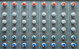 Sound mixing Stock Image