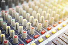 Sound Mixing Stock Photography