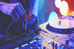 Sound Mixing Royalty Free Stock Images