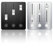 Sound mixing icon Stock Photography