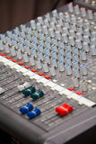 Sound and music mixer Royalty Free Stock Images