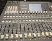 Sound and Music Mixer stock photos