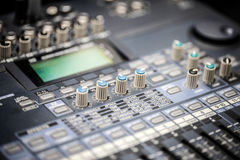 Sound music mixer Stock Photography