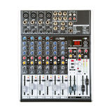Sound music mixer control  panel. Mixer, sequencer. Background Royalty Free Stock Image