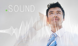 Sound Music Wave Melody Graphic Concept Stock Photography