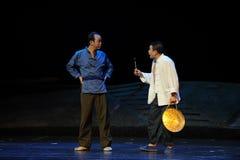 Sound the night watches - Jiangxi opera a steelyard Royalty Free Stock Image
