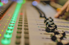 Sound producer Royalty Free Stock Photos