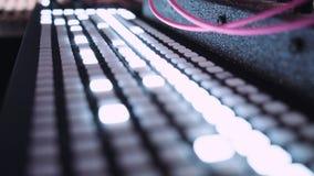 Sound production music studio