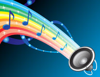 Sound of rainbow Royalty Free Stock Photography