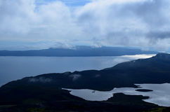 Sound of Rasaay. As seen from the Isle of Skye in Scotland Stock Photos
