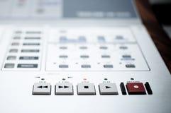 Sound recording. In the studio Stock Photos
