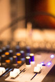 Sound recording audio studio Stock Photography