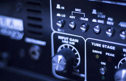 Sound recording audio studio Stock Image