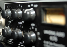 Sound Recording Equipment (Media Equipment). Audio effects processors in a rack. Sound Recording Equipment (Media Equipment). Recording studio Stock Images
