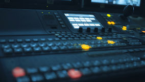 Sound recording studio. Royalty Free Stock Images