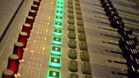 Sound records. stock footage