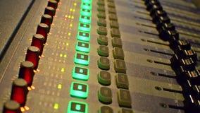 Sound records. Stock Photo