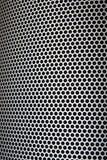 Sound reflexion filter. Pattern of sound reflexion filter royalty free stock photos