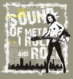 Sound rock Stock Photography
