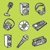 Sound set Stock Image