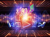 Sound signal Royalty Free Stock Photo