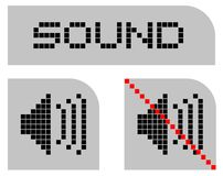 Sound signal Royalty Free Stock Photography