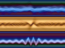 Sound Sine Waves Royalty Free Stock Photos