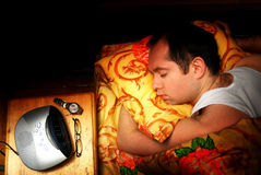Sound sleep Royalty Free Stock Image