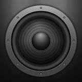 Sound speaker background Stock Photo