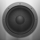 Sound speaker background Stock Photography