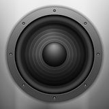 Sound speaker background Royalty Free Stock Image