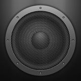 Sound speaker Stock Photo