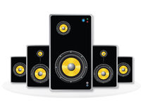 Sound Speaker Stock Image