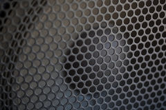 Sound Speaker grill texture Stock Photography