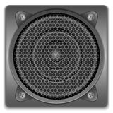 Sound speaker icon Royalty Free Stock Photography
