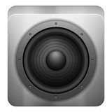 Sound speaker icon Royalty Free Stock Images
