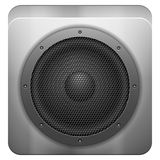 Sound speaker icon Stock Images
