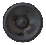 Sound speaker isolated Royalty Free Stock Photo
