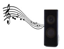 Sound speaker music Royalty Free Stock Photo