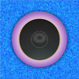 Sound Speaker. Vector Royalty Free Stock Photography