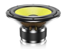 Sound speaker  Stock Images