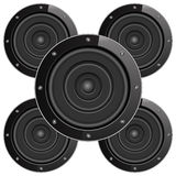 Sound Speakers Stock Photography