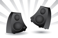 Sound speakers Stock Image
