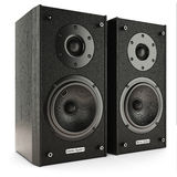 Sound speakers stereo system Stock Images